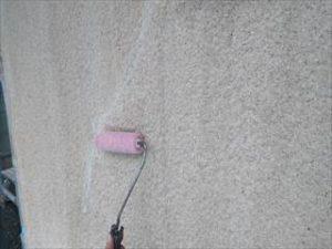 外壁エポキシシーラー塗り