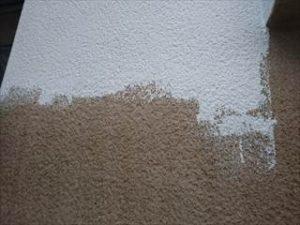 外壁微弾性フィラー塗り