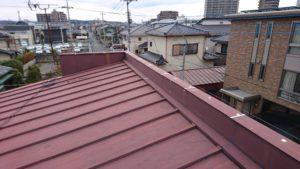 瓦棒トタン屋根施工前